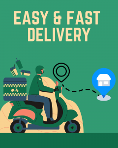 easy & fast delivery